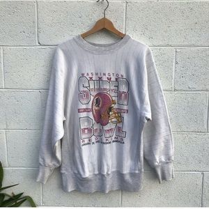 Vintage Redskins Football Sweatshirt
